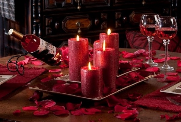 Lovely table decorating inspiration for valentine's day