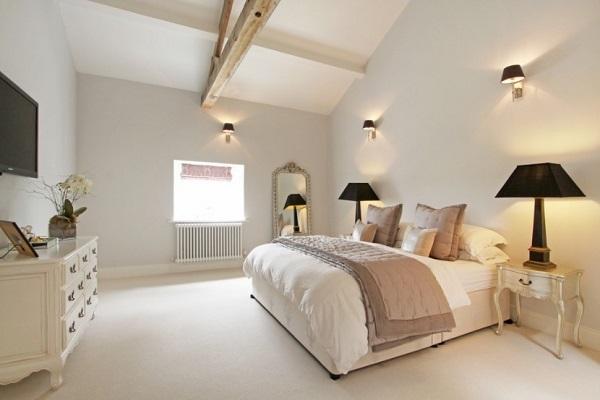 Modern bedroom decor image