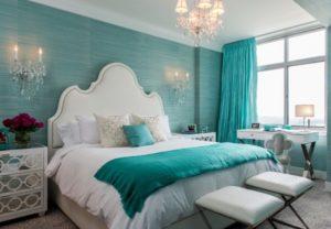 Modern bedroom interior design picture