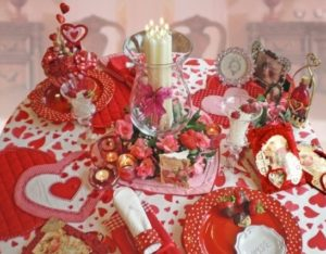 Most beautiful romantic table decor for valentines day