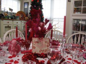 Most romantic table decor idea