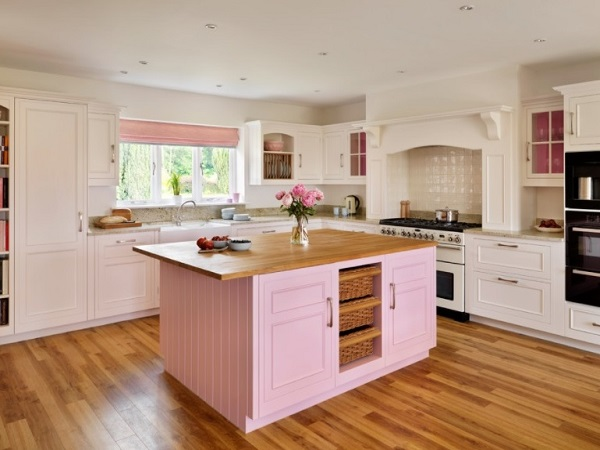 Pink kitchen designs