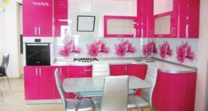 Pink Kitchen Designs, Decorating Ideas, Photos