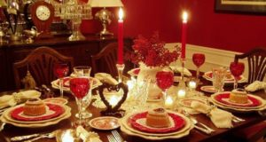 Best Romantic Table Decor Ideas for Valentines Day 2019