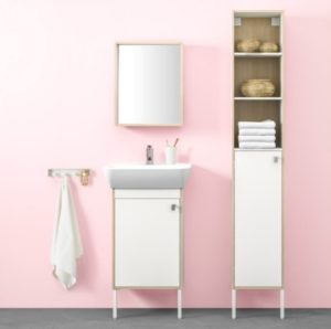 Amazing cabinet and sink for bathroom from IKEA collection