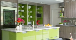 Green Kitchen Designs, Ideas, Photos