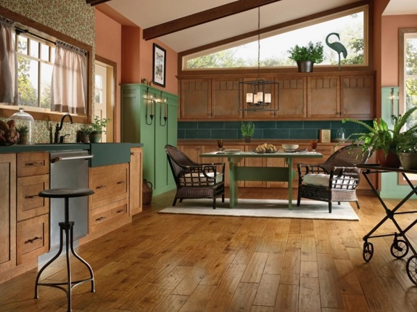 Hardwood Flooring to revamp kitchen
