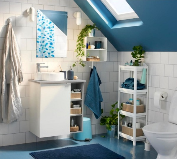 IKEA Budget bathroom from 2018 catalog