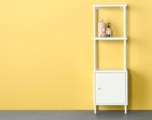 IKEA Shelf with cabinet