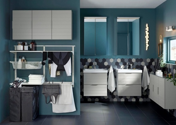 IKEAu0027s Laundry Bathroom For Dirty, Clean Process All Together
