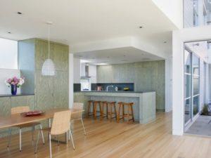 Soft green kitchen decor