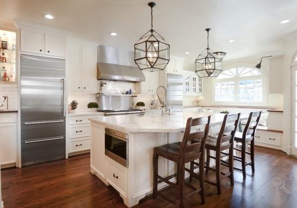 Amazing lighting for kitchen design