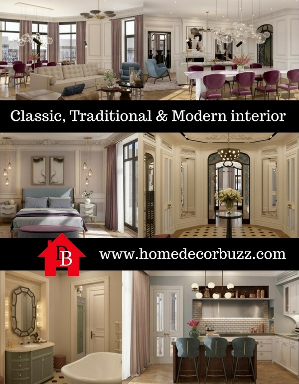 Classic Modern apartment interior by homedecorbuzz