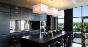 Top Black Kitchen Designs, Ideas, Pictures