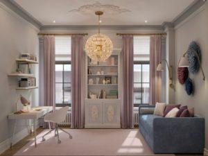 Joyful Gray color apartment interior
