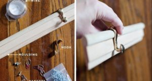 10 Brilliant Ideas to Make a Decorative Molding Hook Rail