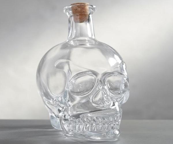 Skull Glass Decanter