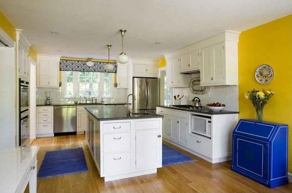 Yellow kitchen design ideas by homedecorbuzz