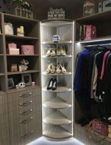 360 degree rotating shoe storage rack