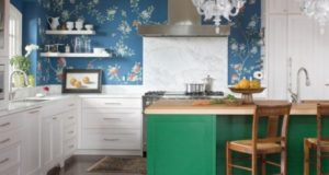 How to Decorate Blue and Green Kitchen