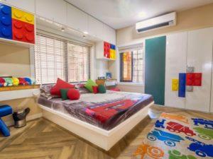 Beautiful almirah for kids bedroom