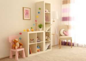 Designing play area for kids in home