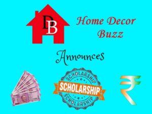 Home Decor Buzz Scholarship