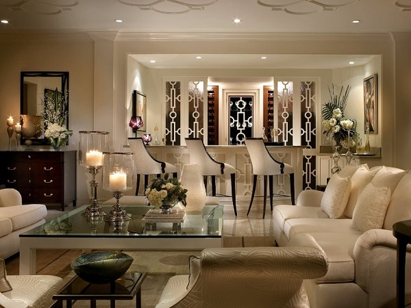 Candles beautify living space