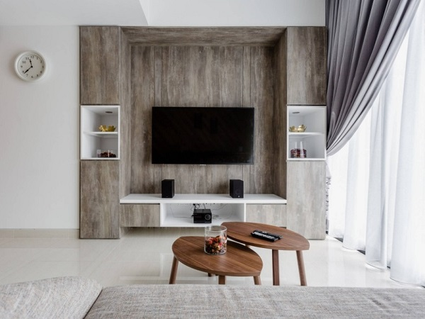 Modular tv unit for living room