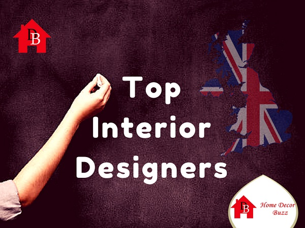 UK's top interior designers list