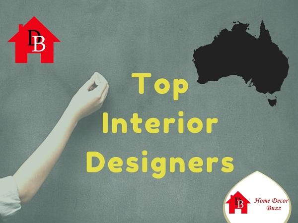 Australia Top Interior Designers list