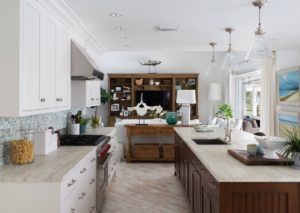 Beach style kitchen design from Florida, USA