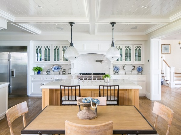 Beach style kitchen interior design by homedecorbuzz