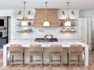 Kitchen design in beach style