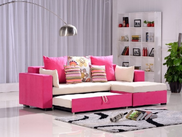 Lovely pink living room interior design ideas by homedecorbuzz