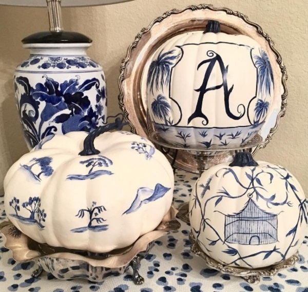 Best chinoiserie pumpkin decorating ideas by homedecorbuzz
