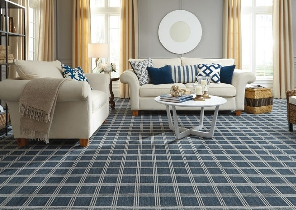 6 Brilliant Ideas to Decorate Living Room with Carpet | Home ...
