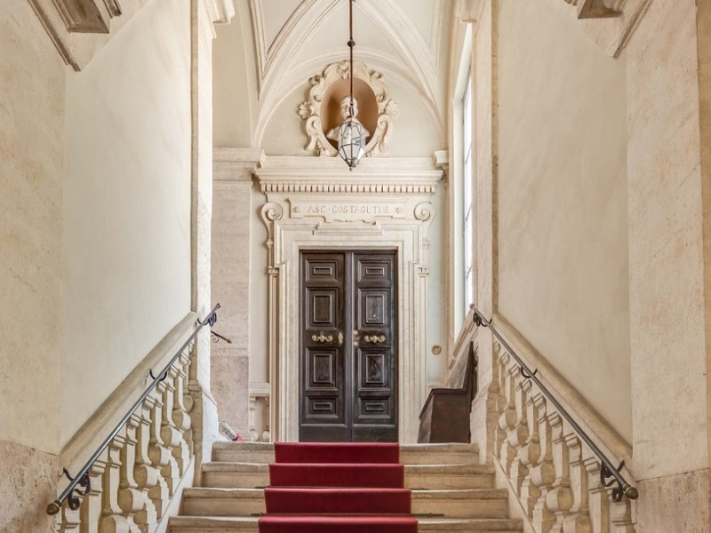 Costaguti Experience Apartment entrance