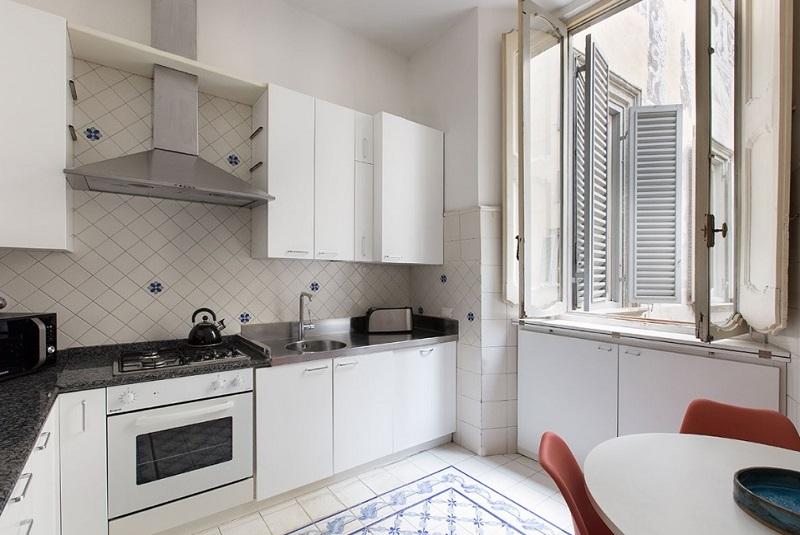 Kitchen design in luxury apartment Costaguti experience