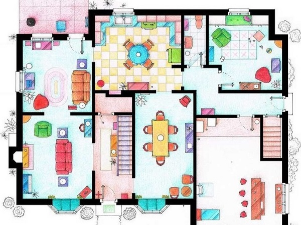 Floor Plan for home