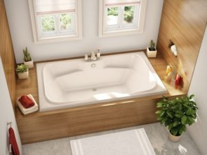 Alcove Tub for bathroom by homedecorbuzz