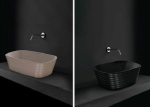 Washbasin designs for small bathrooms.