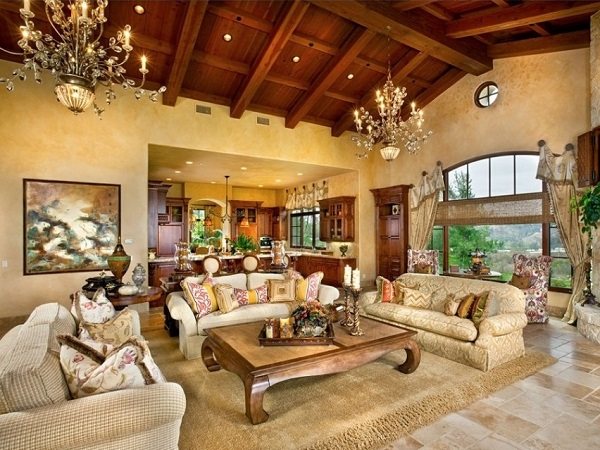 Luxury living room design photo by homedecorbuzz