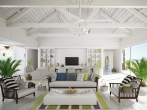 Beach style living room photo by homedecorbuzz