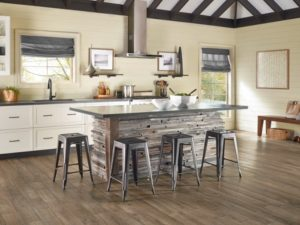 Hardwood flooring for kitchen