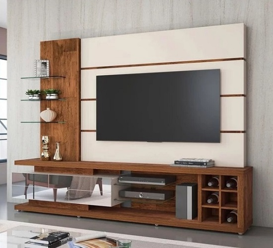 Stylish entertainment unit