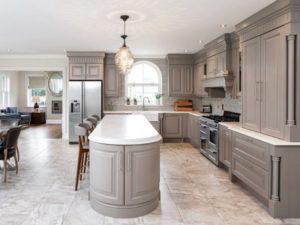 Luxury open kitchen design
