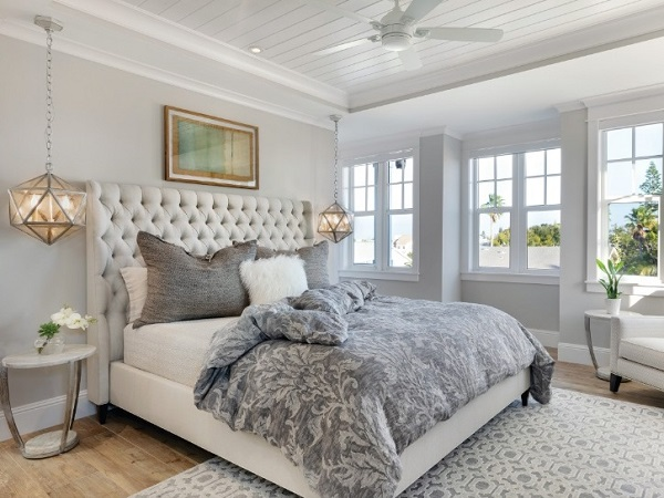 Beach style bedroom photo by homedecorbuzz
