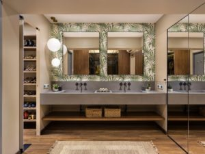 Modern bathroom design trend