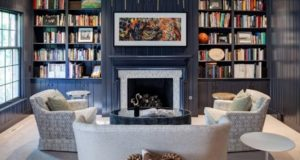 6 ideas for Stylish And Functional Library in Living Room
